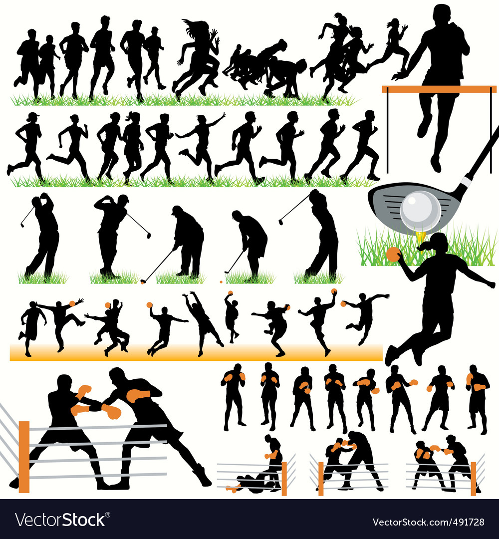 Sports set03 vector | Price: 1 Credit (USD $1)