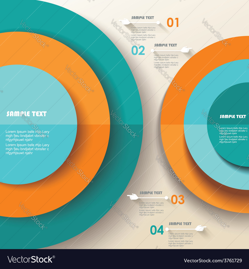 3d infographic can be used for number options vector | Price: 1 Credit (USD $1)