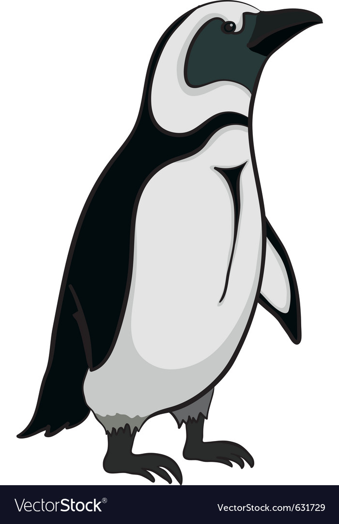 Emperor penguin vector | Price: 1 Credit (USD $1)