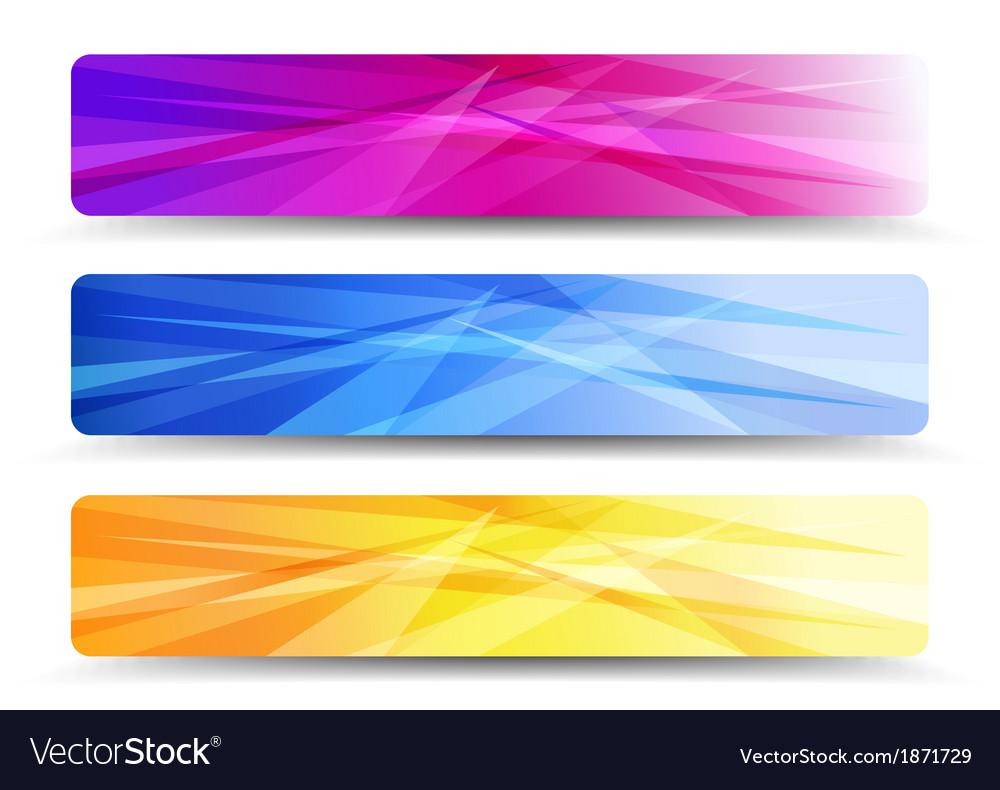 Web banners headers - banner header vector | Price: 1 Credit (USD $1)