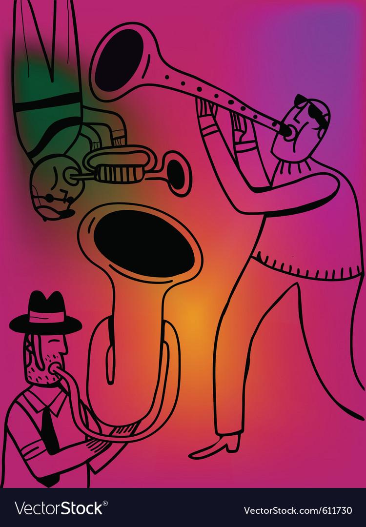 Jazz band vector   Price: 1 Credit (USD $1)