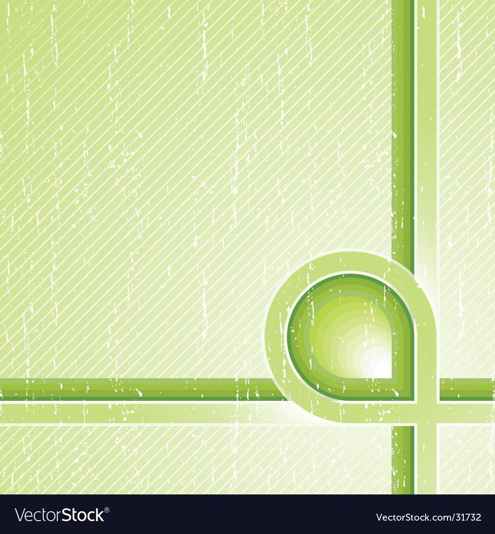Ecological stripes corner design vector | Price: 1 Credit (USD $1)