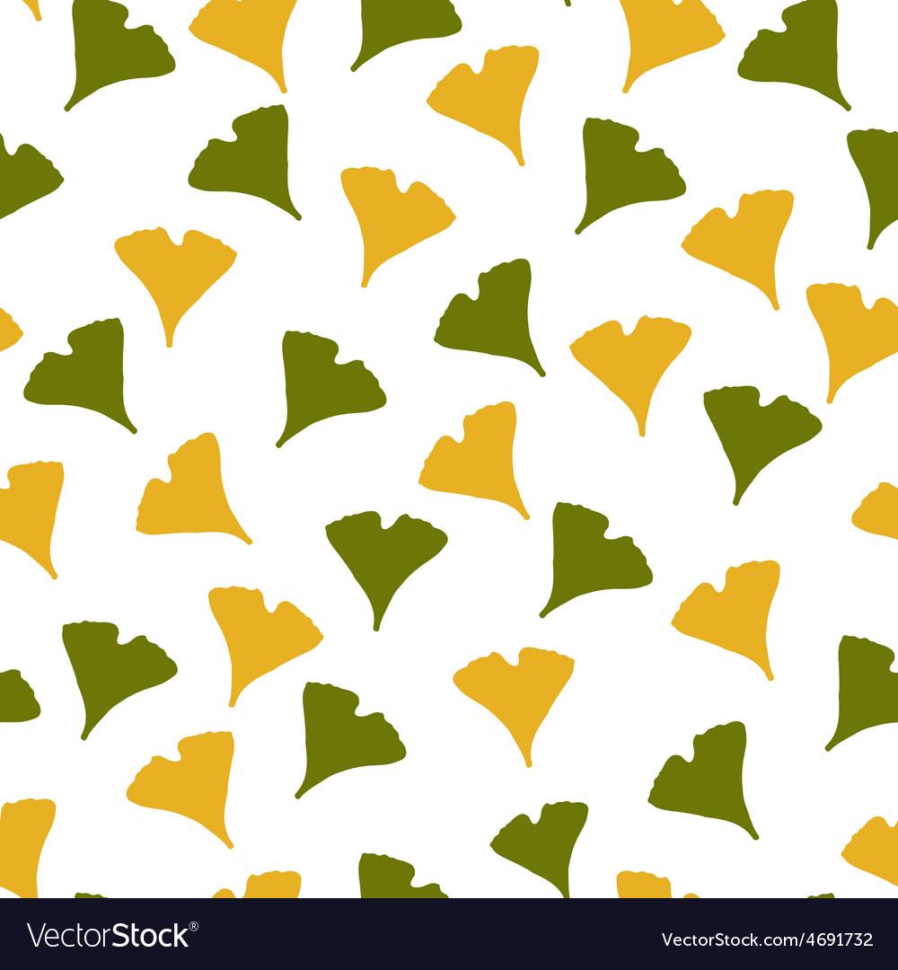Ginkgo biloba pattern vector   Price: 1 Credit (USD $1)