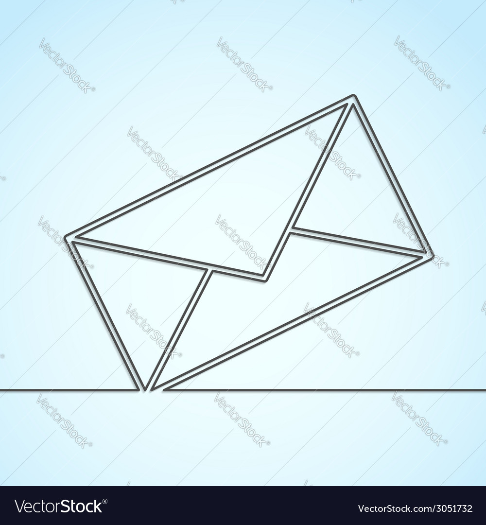 Letter icon abstract line background template vector | Price: 1 Credit (USD $1)