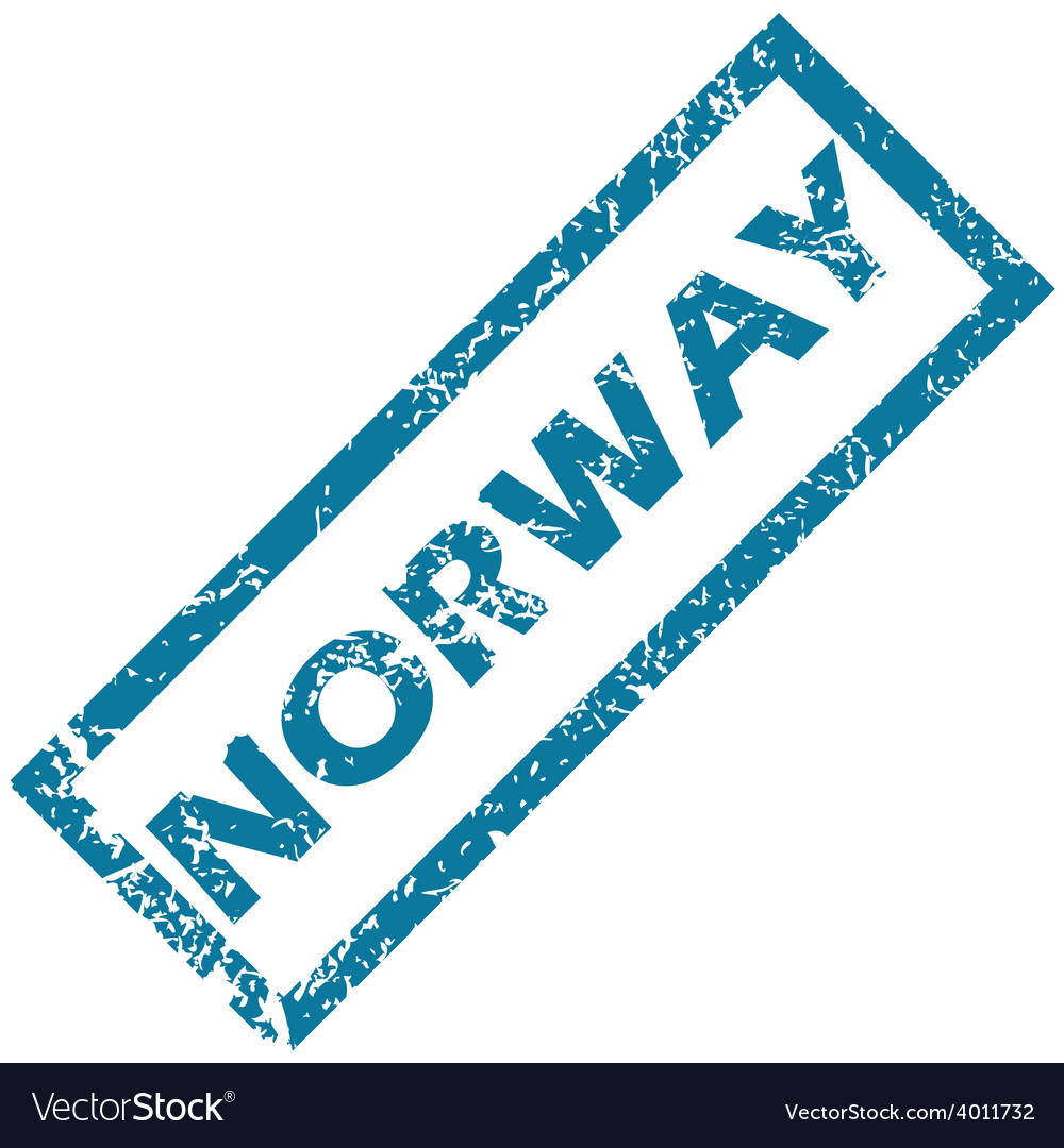 Norway rubber stamp vector | Price: 1 Credit (USD $1)