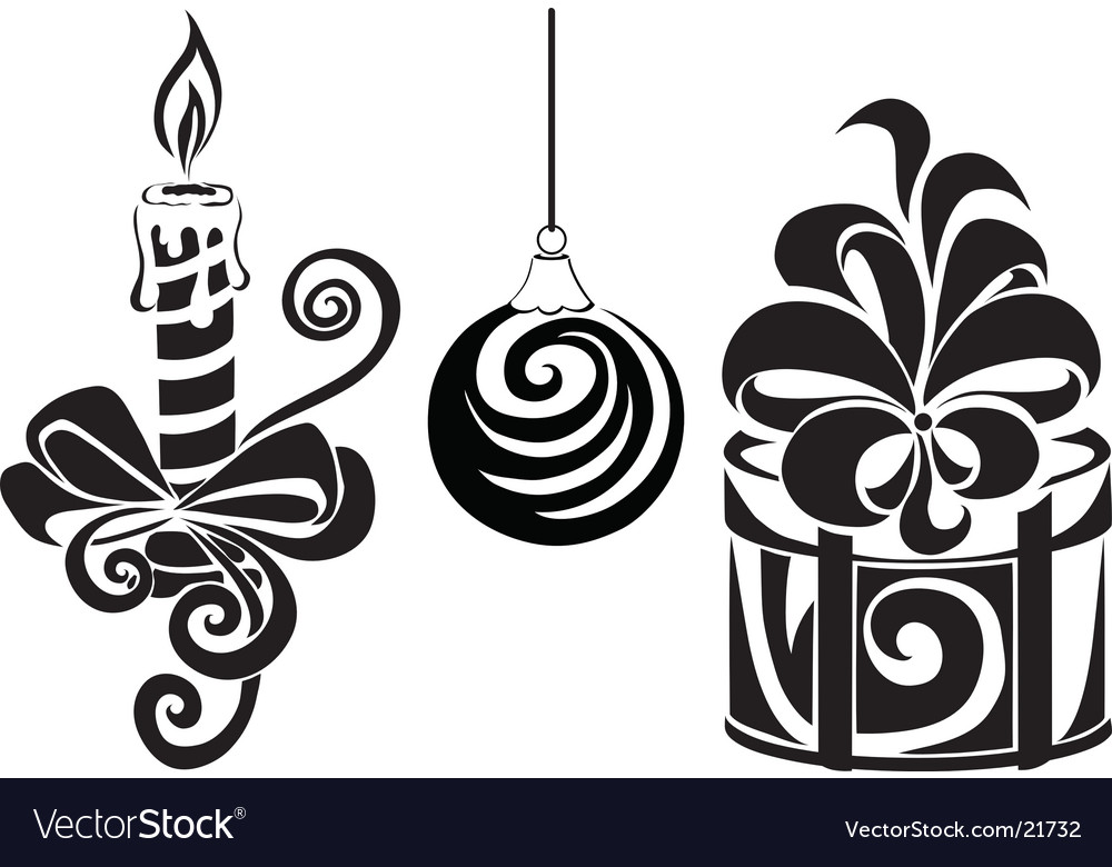 Set for christmas vector | Price: 1 Credit (USD $1)