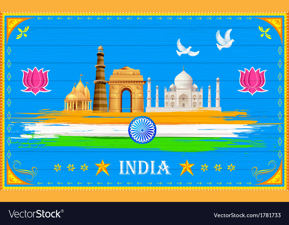 India background vector | Price: 1 Credit (USD $1)