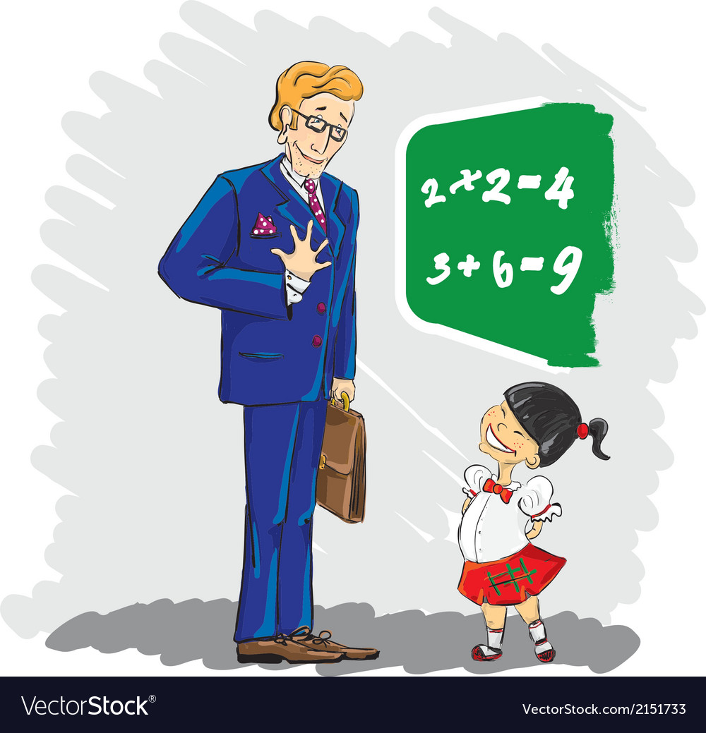 Teacher vector | Price: 1 Credit (USD $1)