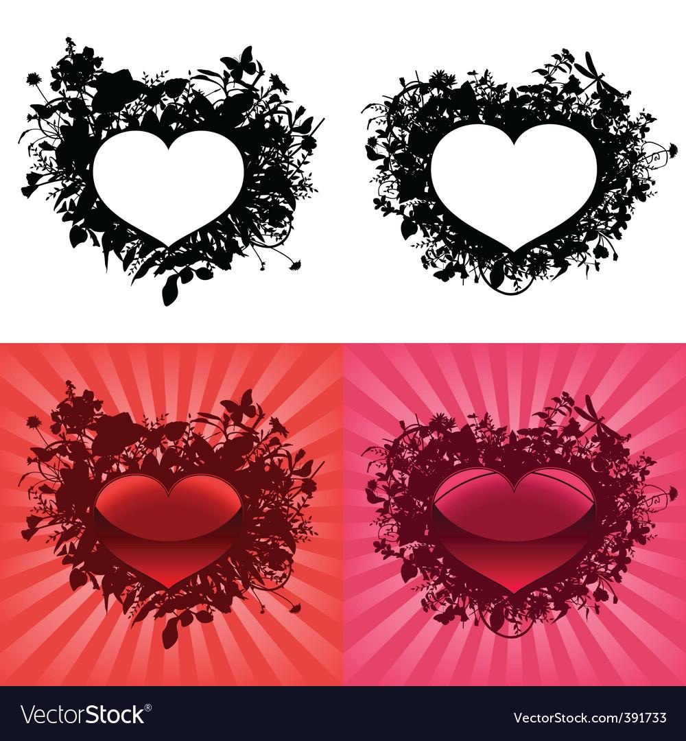 Valentine's day hearts vector | Price: 1 Credit (USD $1)