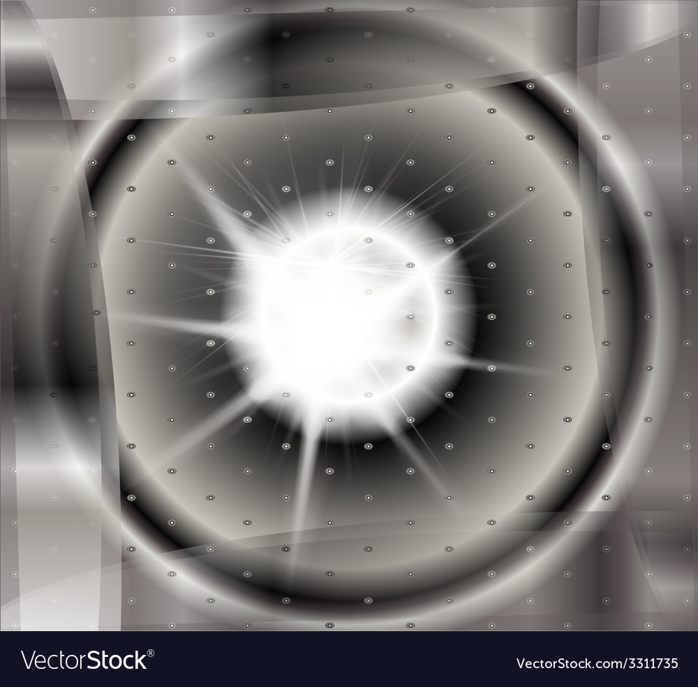 Abstract black and white technical background with vector | Price: 1 Credit (USD $1)