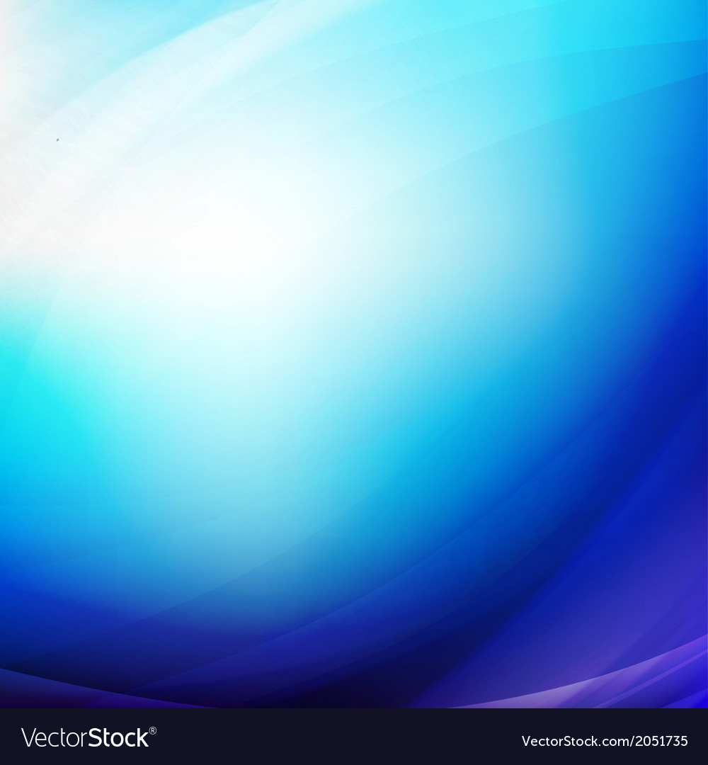 Abstract blue smooth flow background for modern vector | Price: 1 Credit (USD $1)