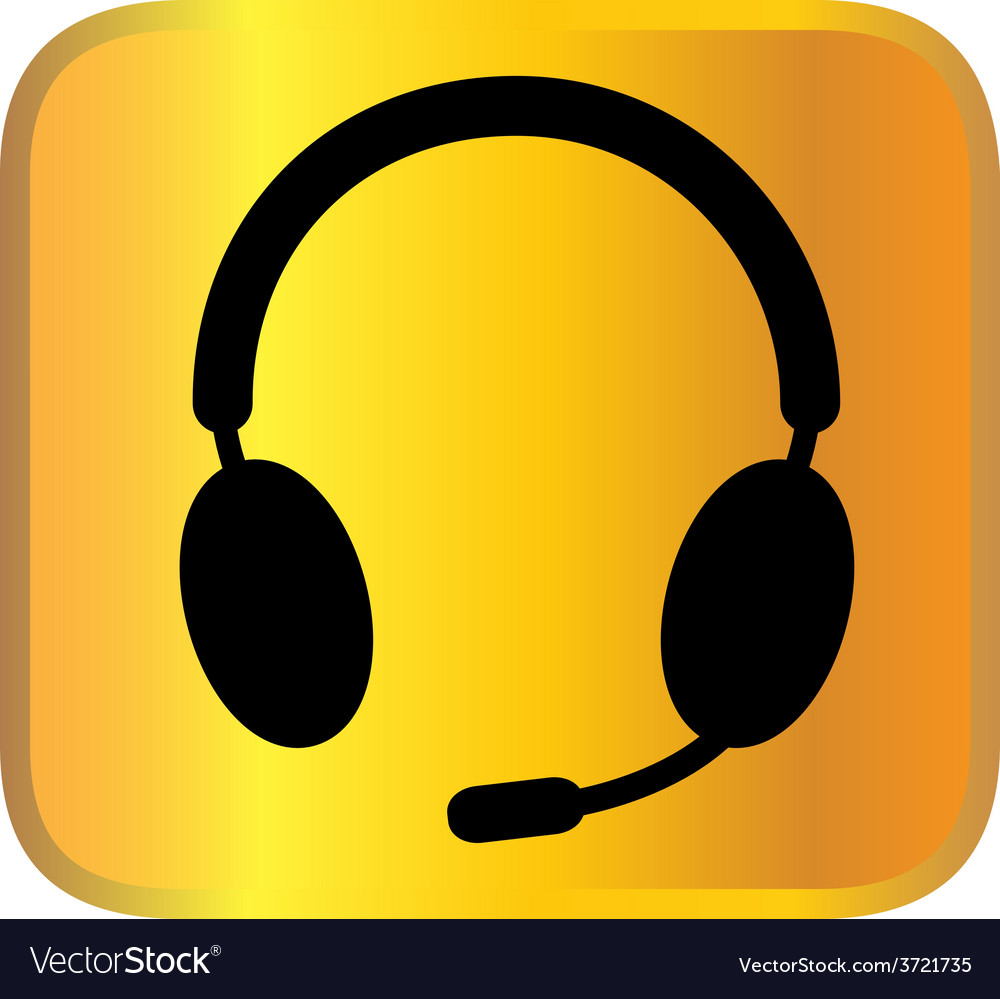 Headphone vector | Price: 1 Credit (USD $1)