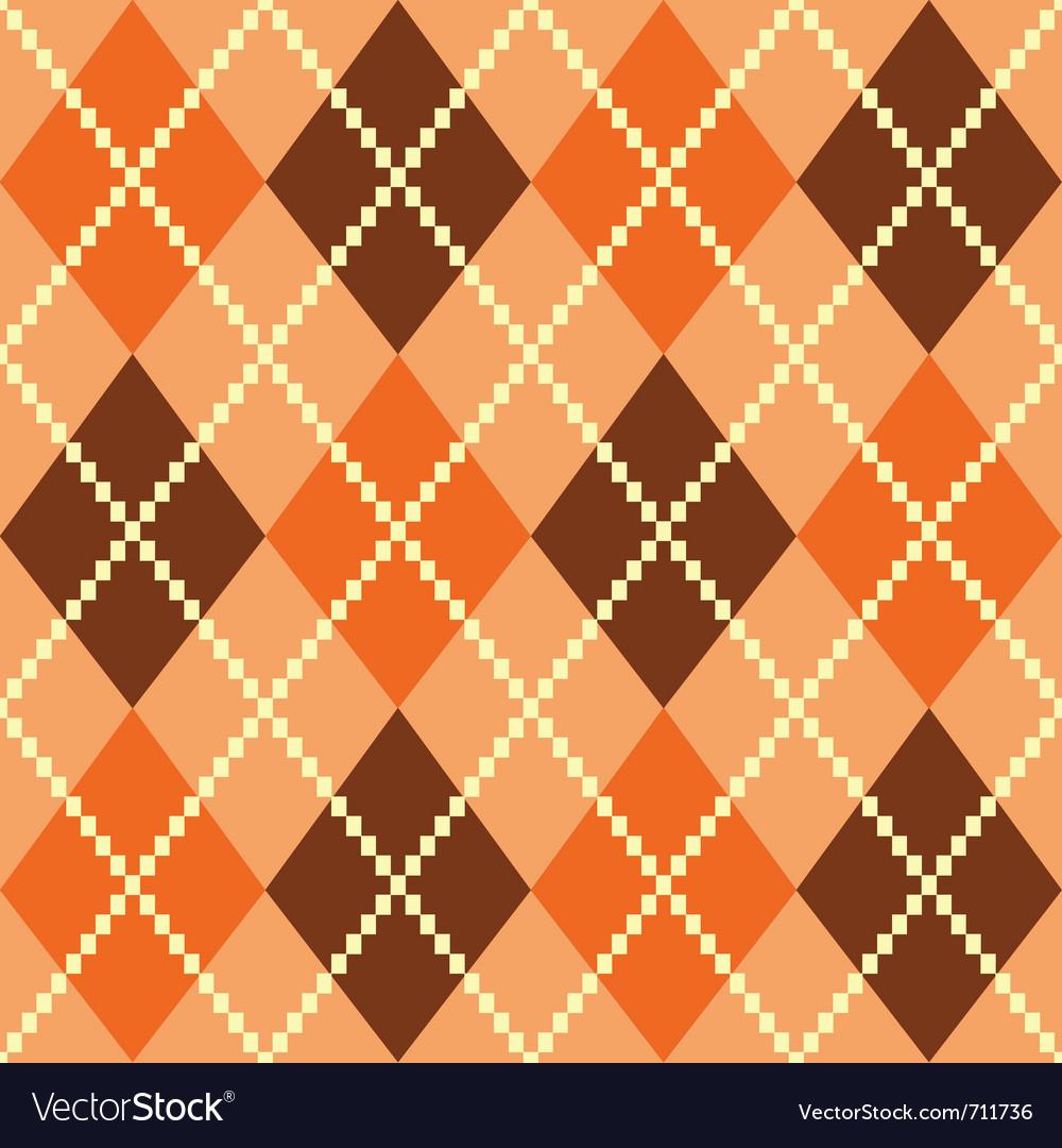 Retro argile pattern vector | Price: 1 Credit (USD $1)