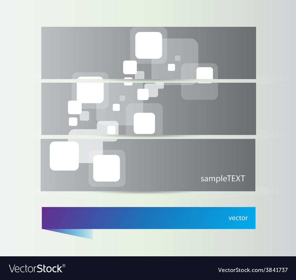Abstract square banners vector | Price: 1 Credit (USD $1)