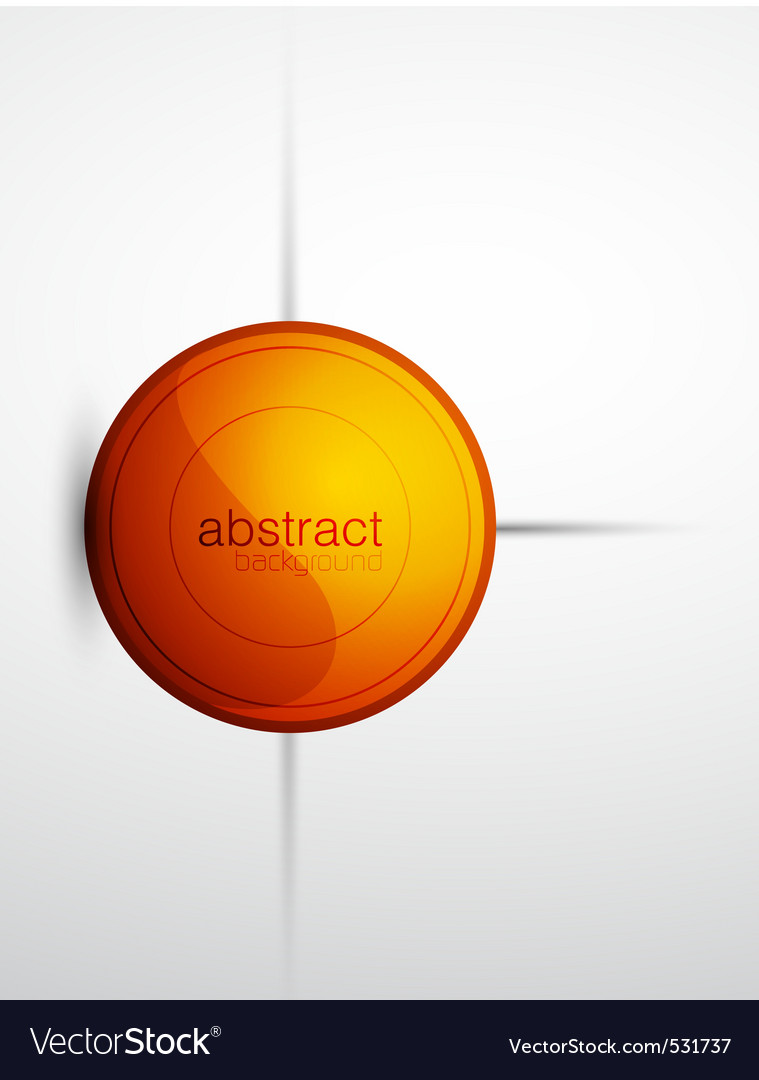 Modern button vector | Price: 1 Credit (USD $1)