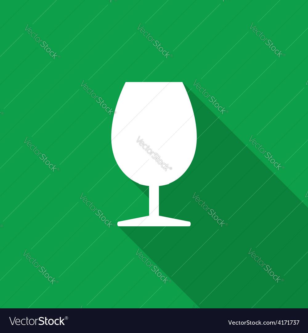 Wine glass icon vector | Price: 1 Credit (USD $1)