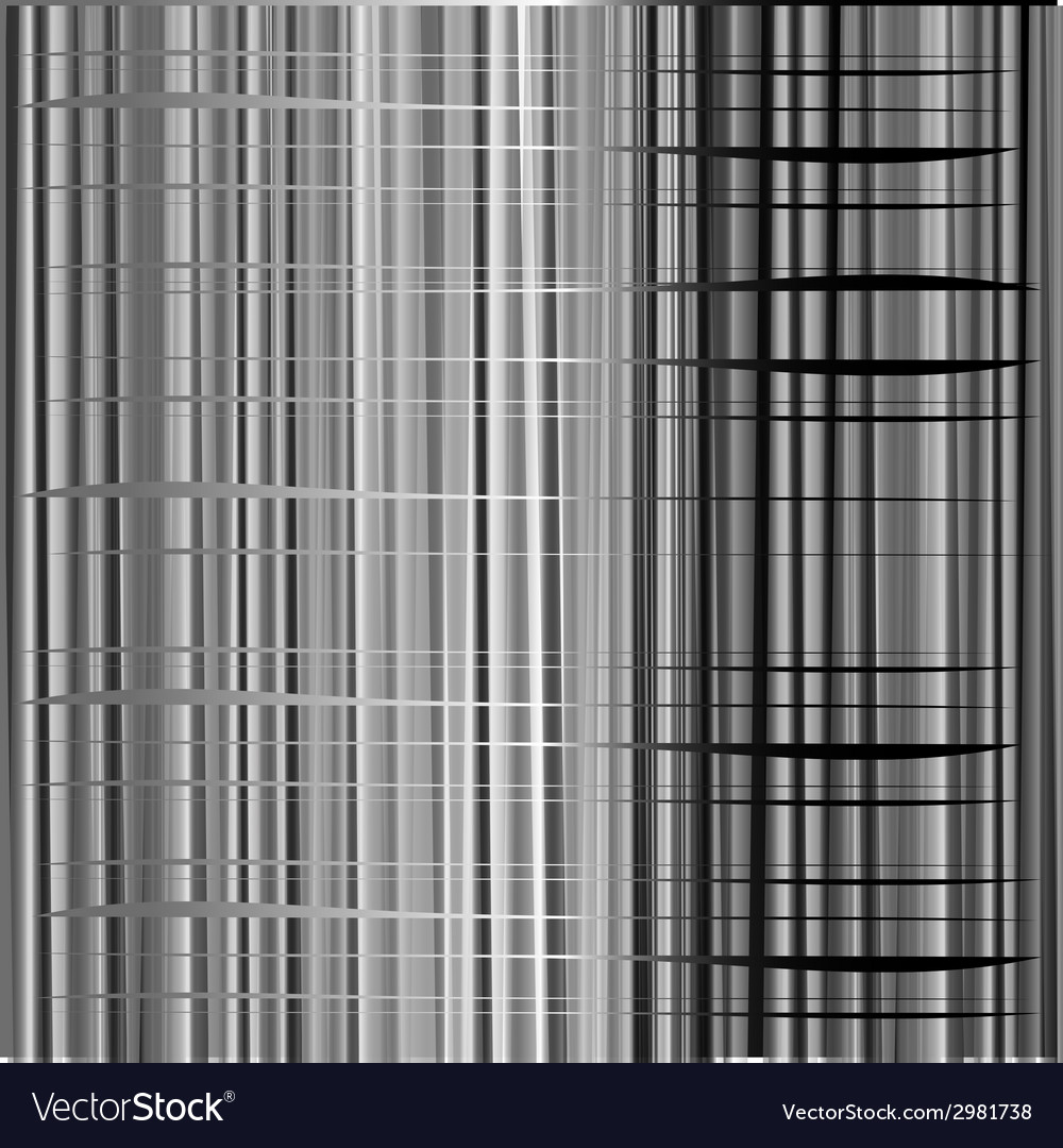 Black and white background metal texture abstract vector