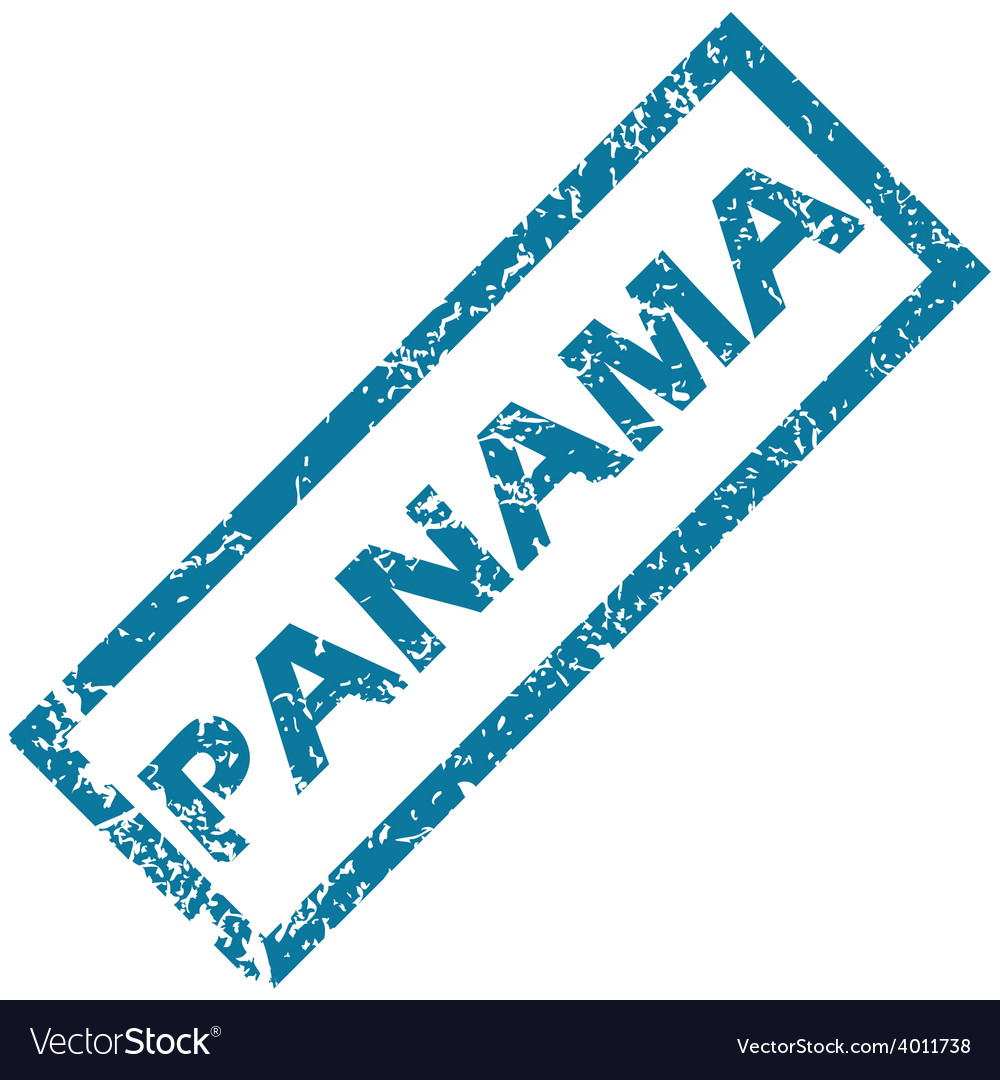 Panama rubber stamp vector | Price: 1 Credit (USD $1)