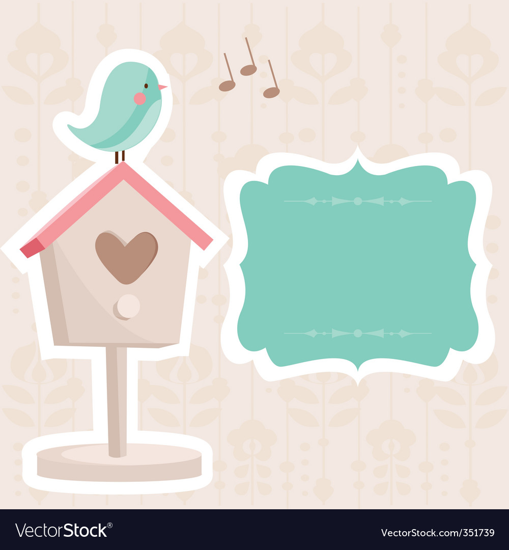 Birdhouse vector | Price: 1 Credit (USD $1)