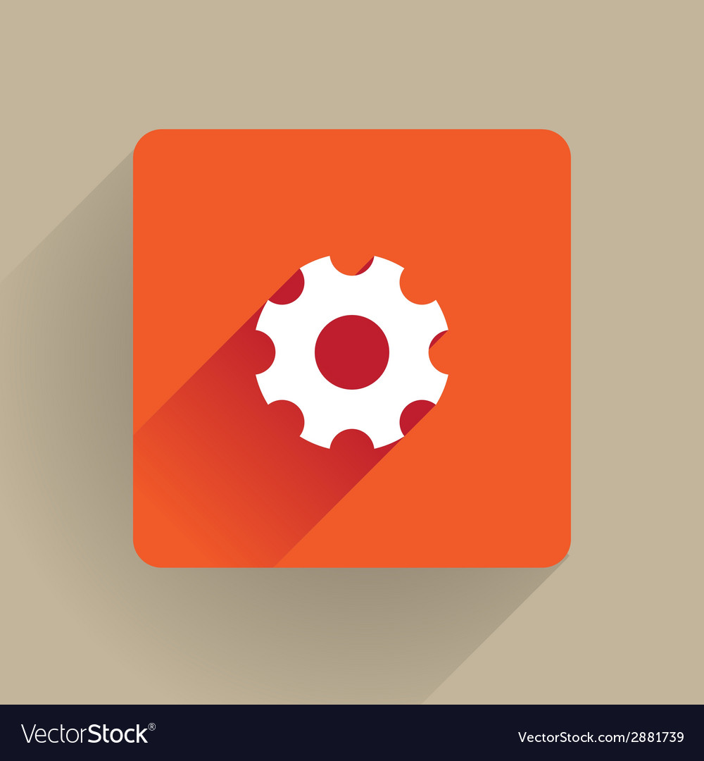 Cog icon vector | Price: 1 Credit (USD $1)