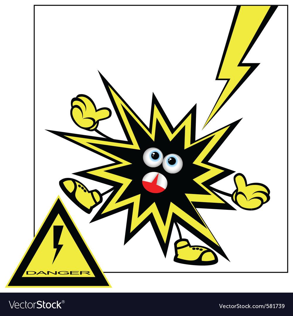 Danger warning vector | Price: 1 Credit (USD $1)