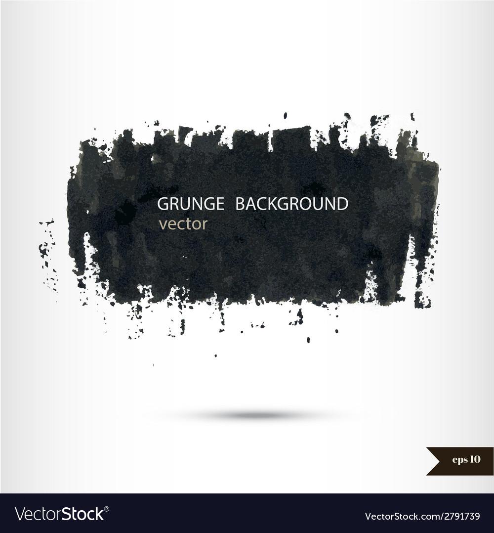 Splash banner watercolor background vector | Price: 1 Credit (USD $1)