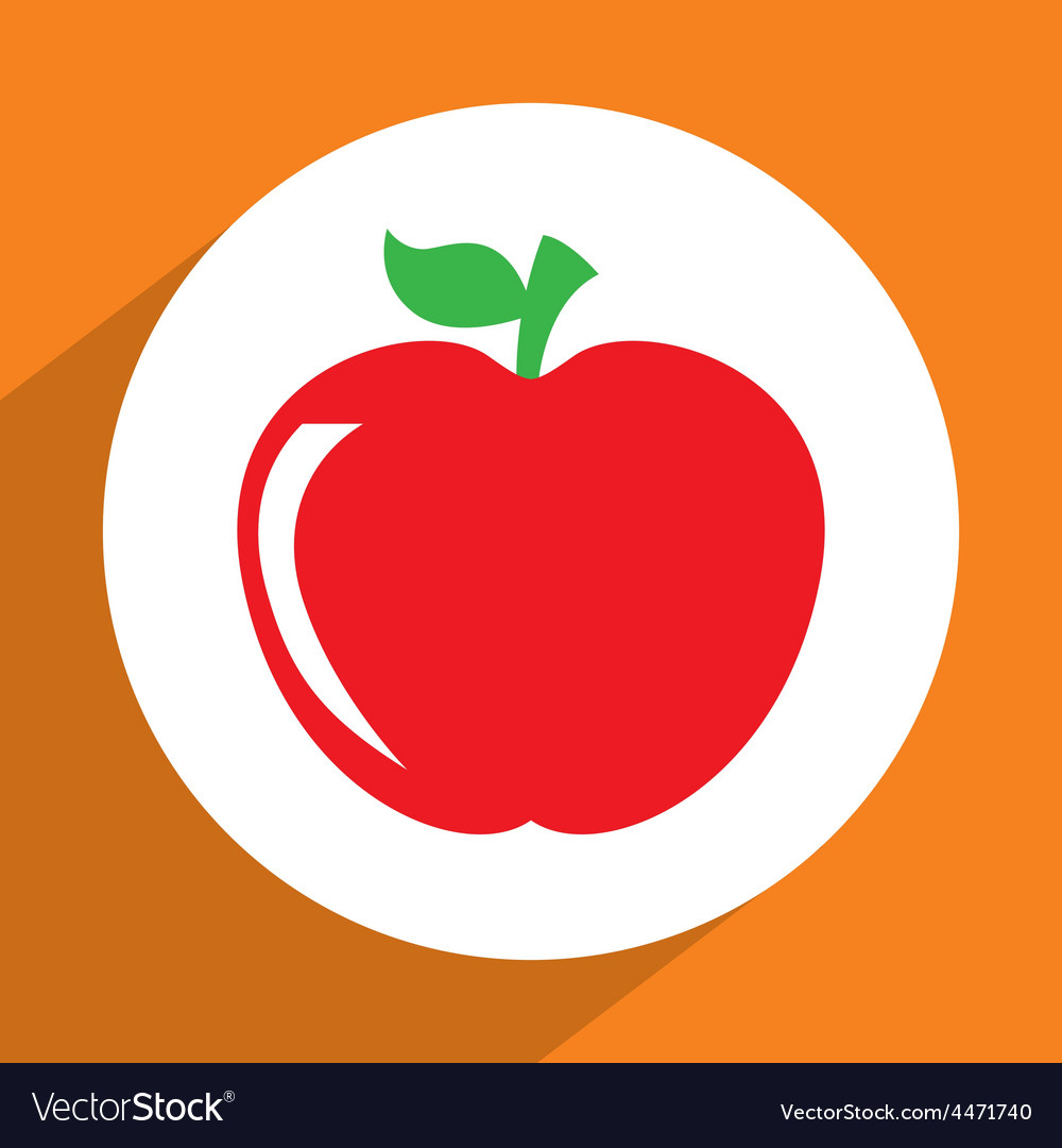 Fruit icon vector   Price: 1 Credit (USD $1)