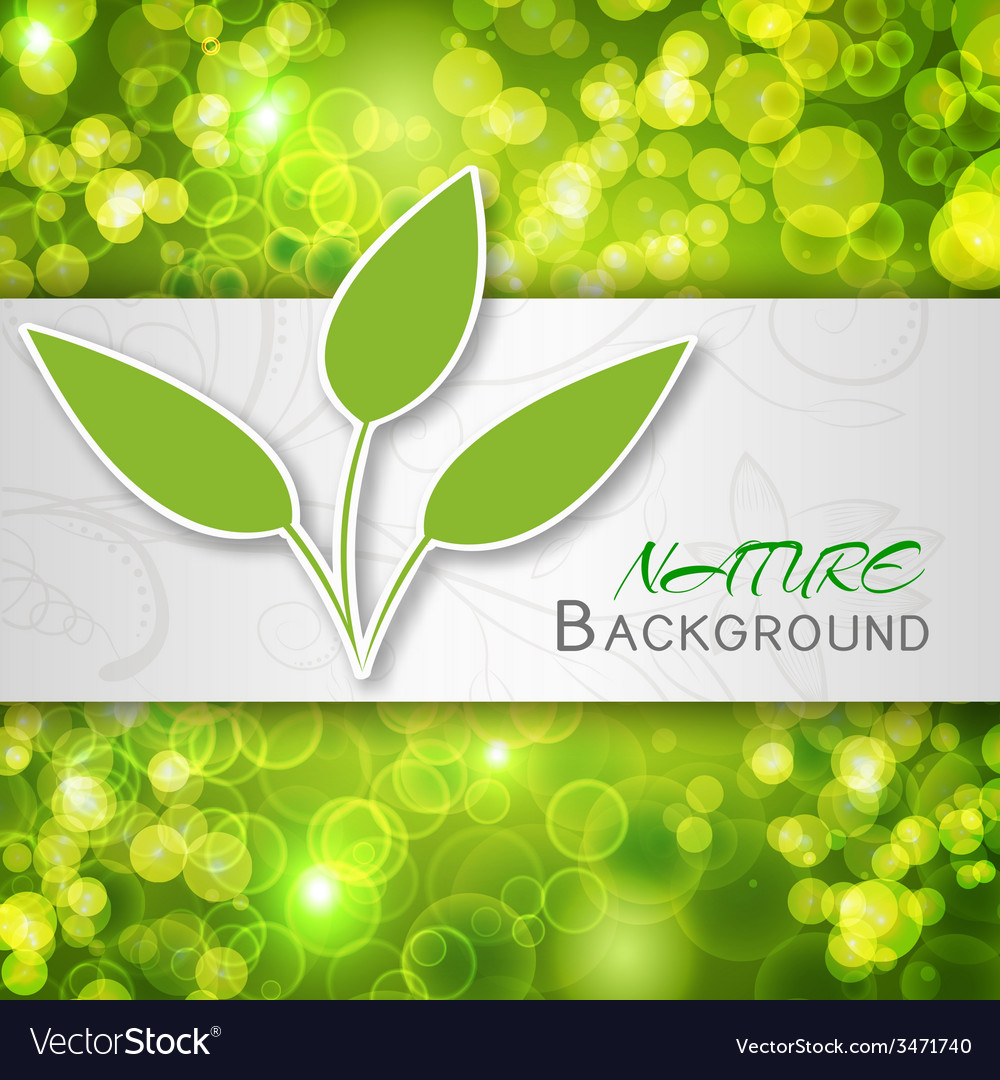 Nature abstract concept vector   Price: 1 Credit (USD $1)