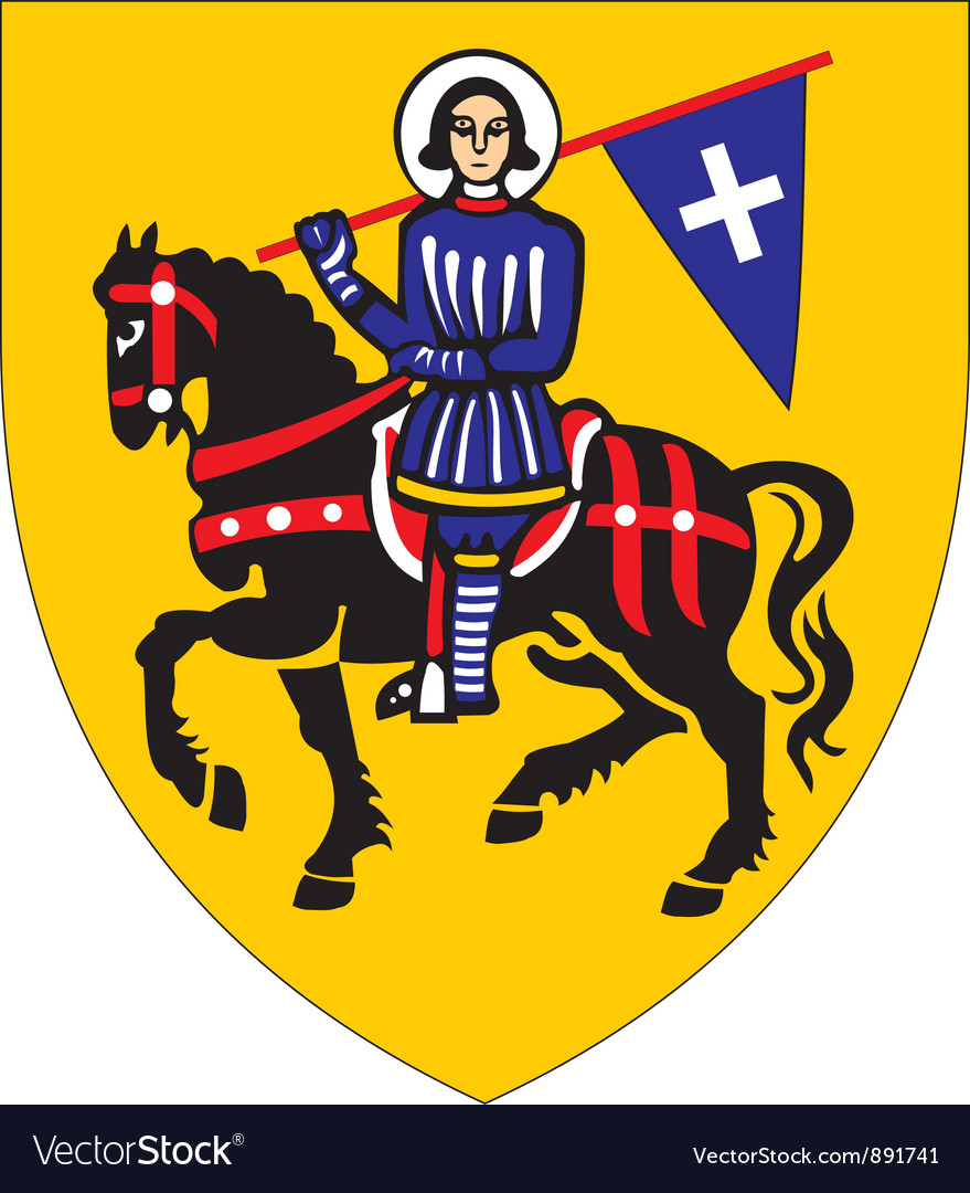Lugnez coat-of-arms vector | Price: 1 Credit (USD $1)