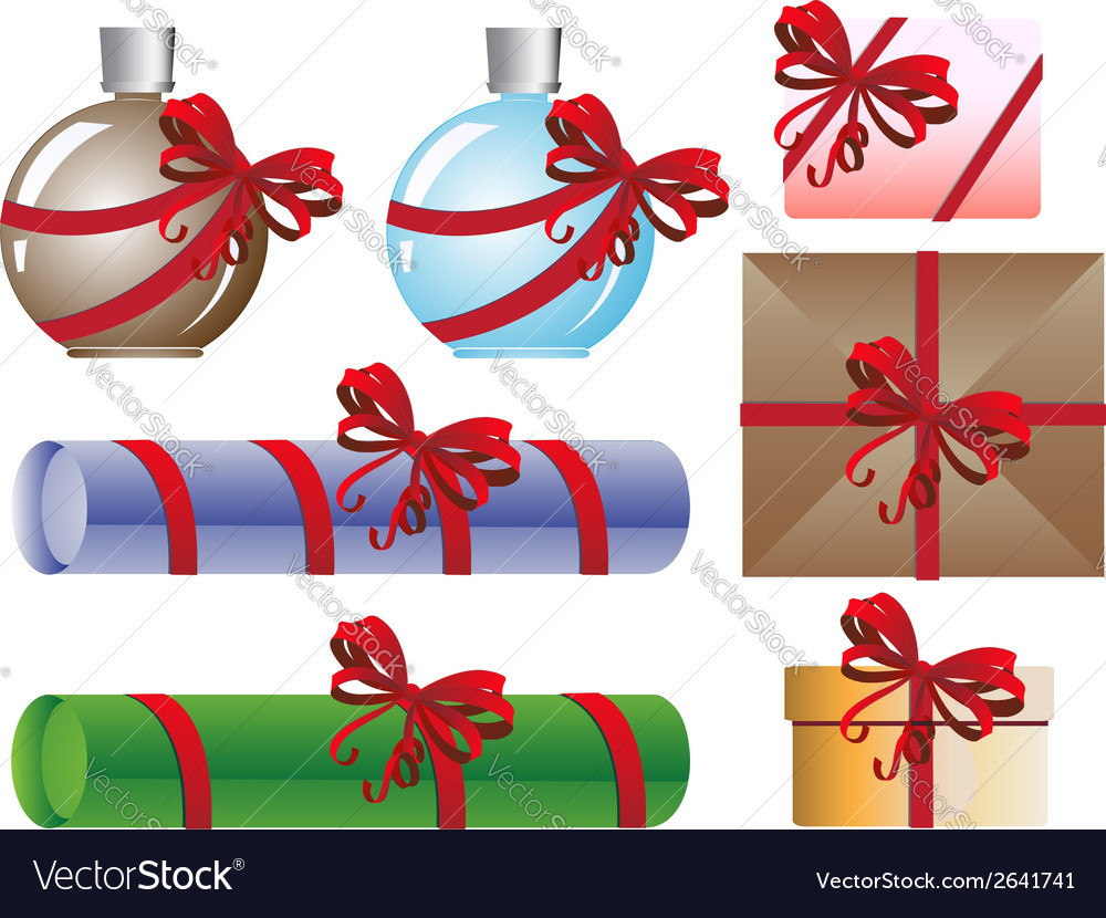 Original gift set vector | Price: 1 Credit (USD $1)