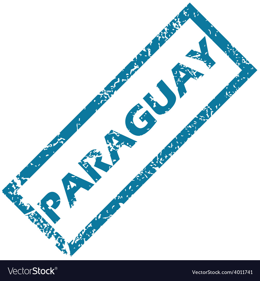 Paraguay rubber stamp vector | Price: 1 Credit (USD $1)