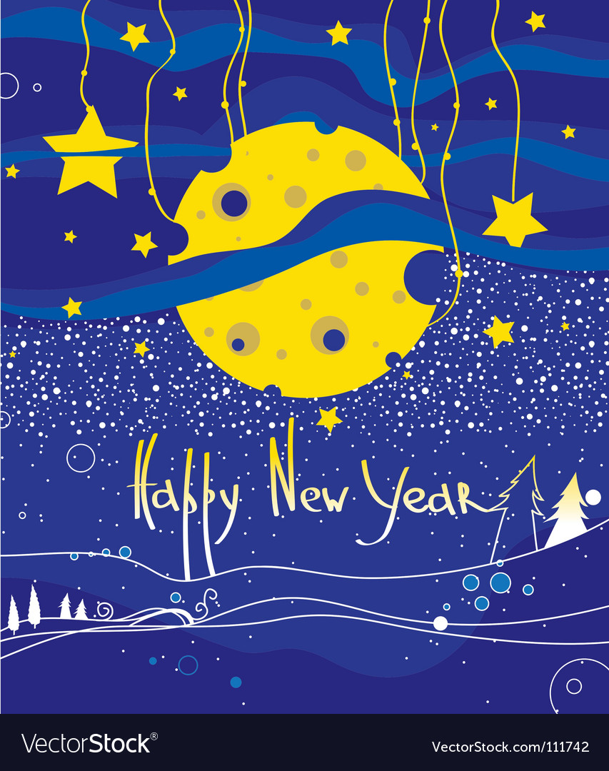 New year's eve vector | Price: 1 Credit (USD $1)