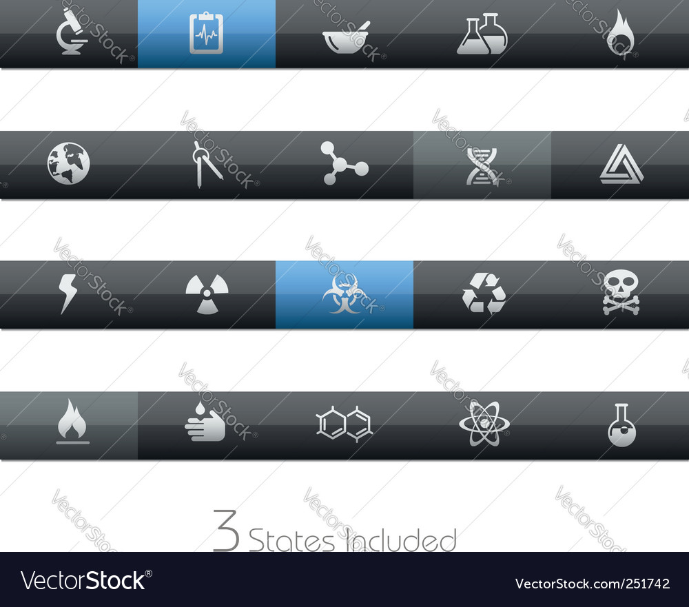 Science bars vector | Price: 1 Credit (USD $1)