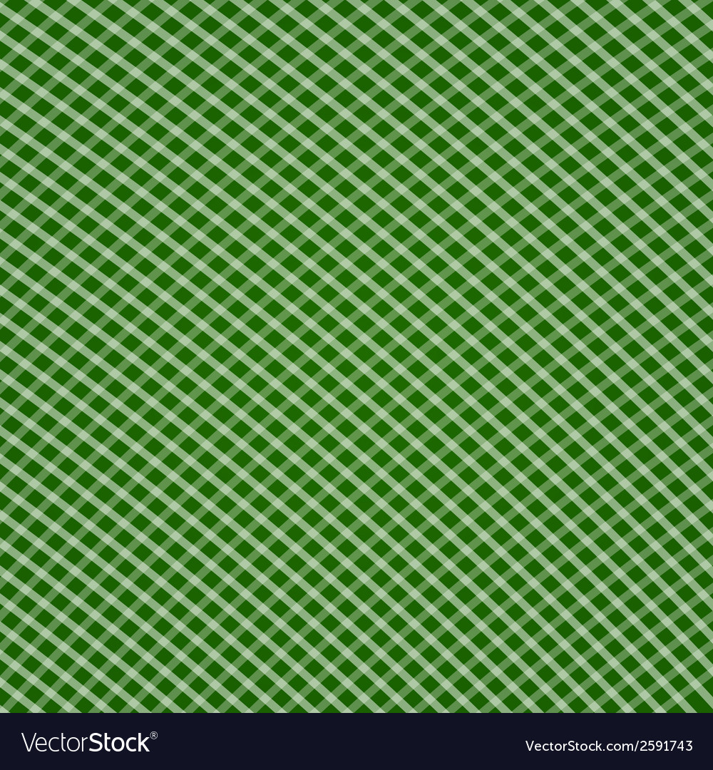 Green tartan pattern background vector | Price: 1 Credit (USD $1)