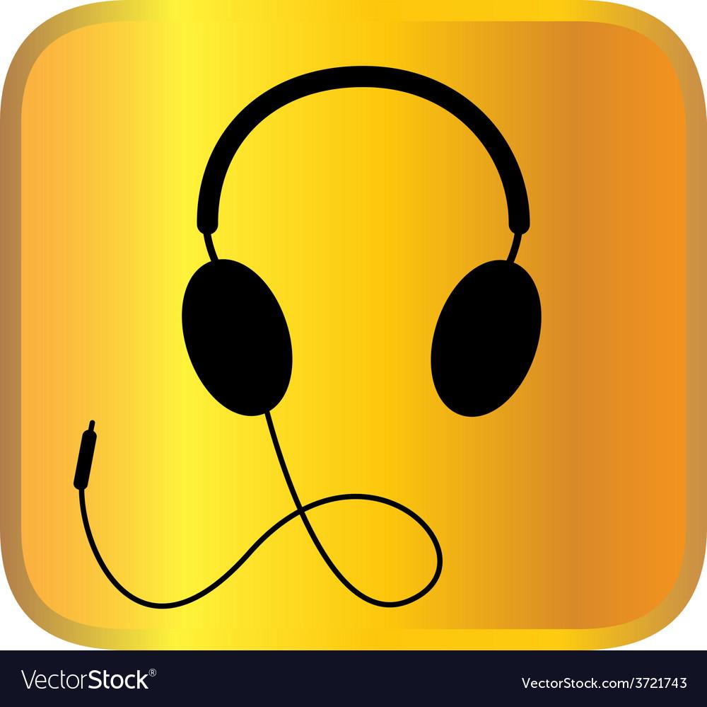 Headphone vector | Price: 1 Credit (USD $1)
