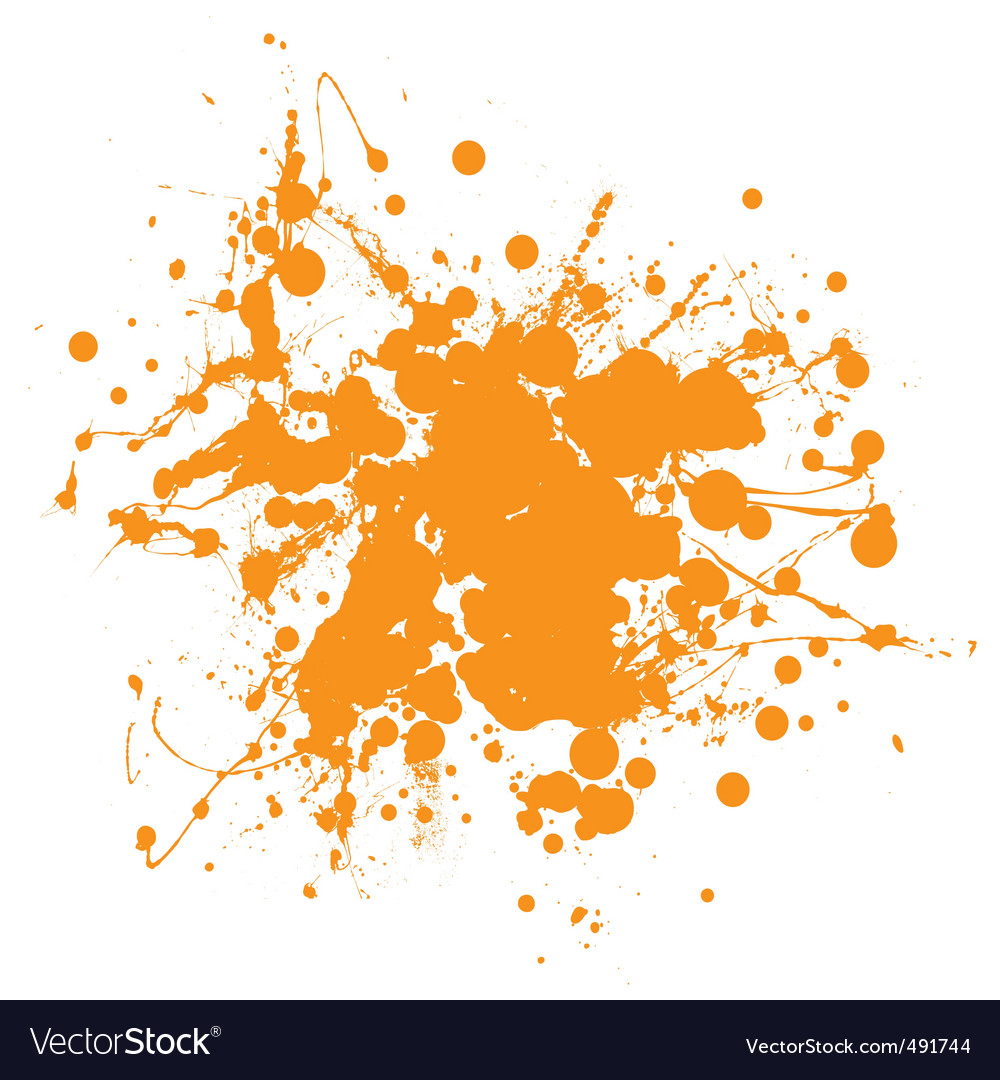 Abstract ink splat vector | Price: 1 Credit (USD $1)