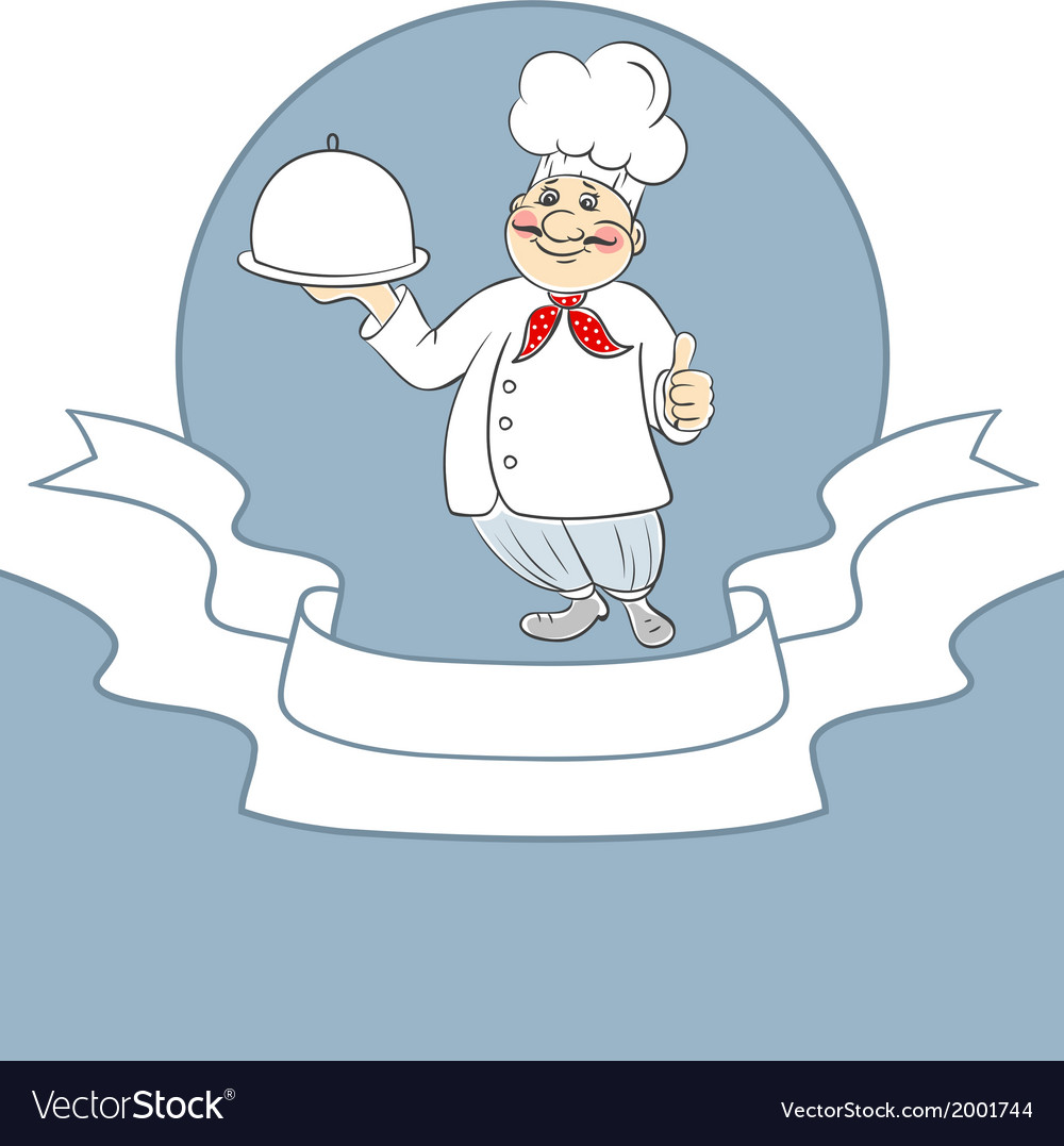 Chef cook man vector | Price: 1 Credit (USD $1)
