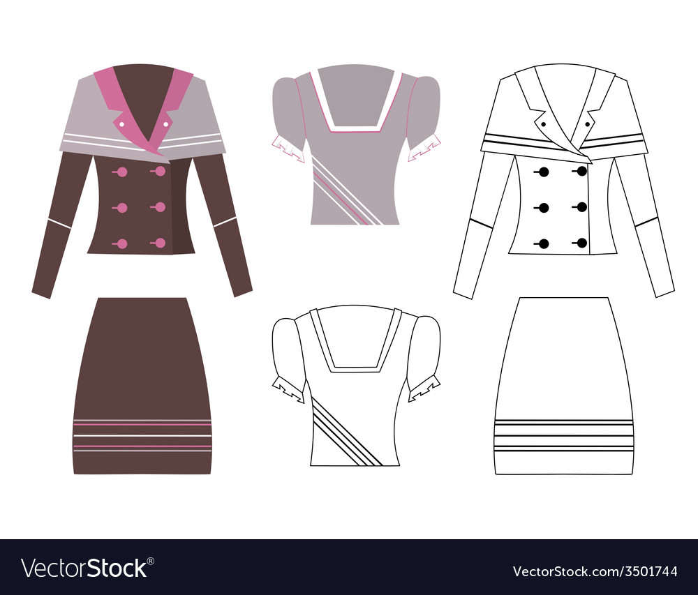 Image of a business suit vector   Price: 1 Credit (USD $1)