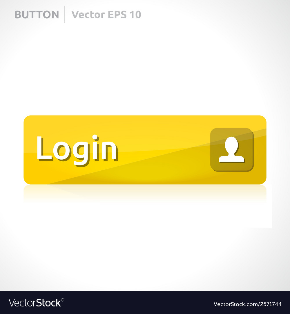 Login button template vector | Price: 1 Credit (USD $1)