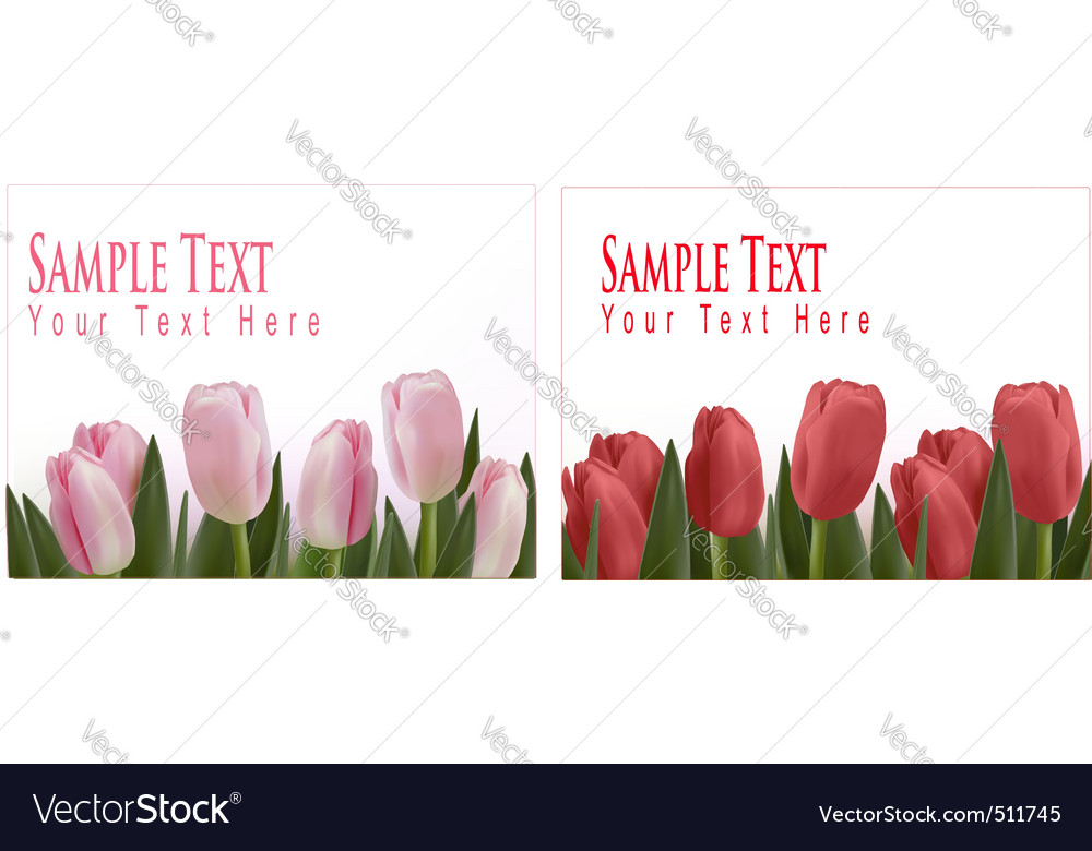 Flower design border vector | Price: 1 Credit (USD $1)