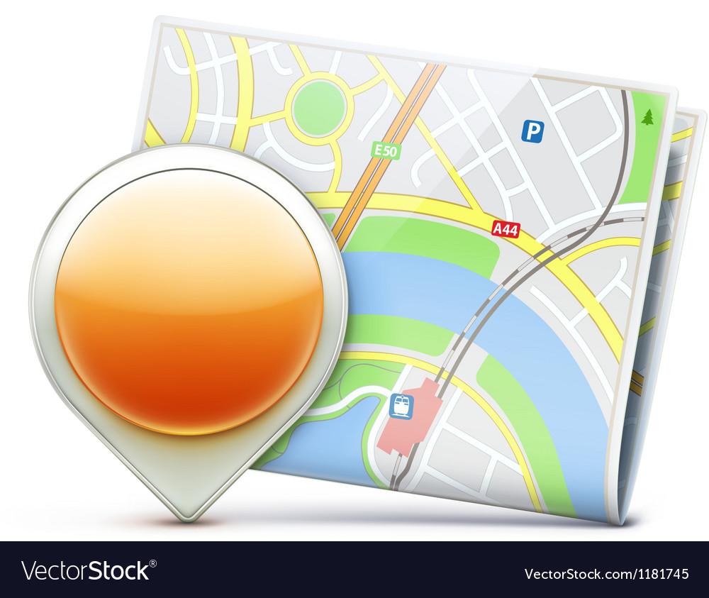 Navigation concept vector | Price: 3 Credit (USD $3)