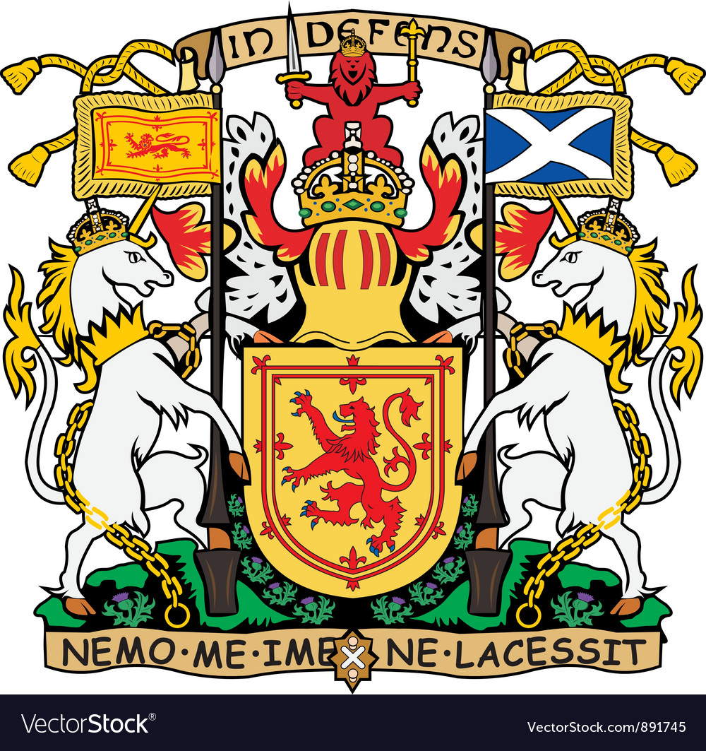 Scotland coat-of-arms vector | Price: 1 Credit (USD $1)