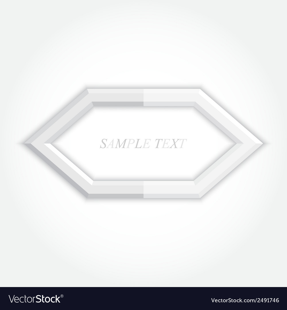 3d abstract background and hexagon icon design vector | Price: 1 Credit (USD $1)