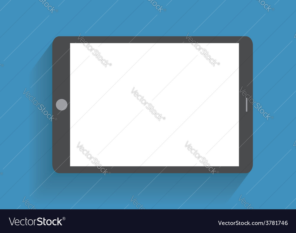 Hand holding smartphone with blank screen vector | Price: 1 Credit (USD $1)