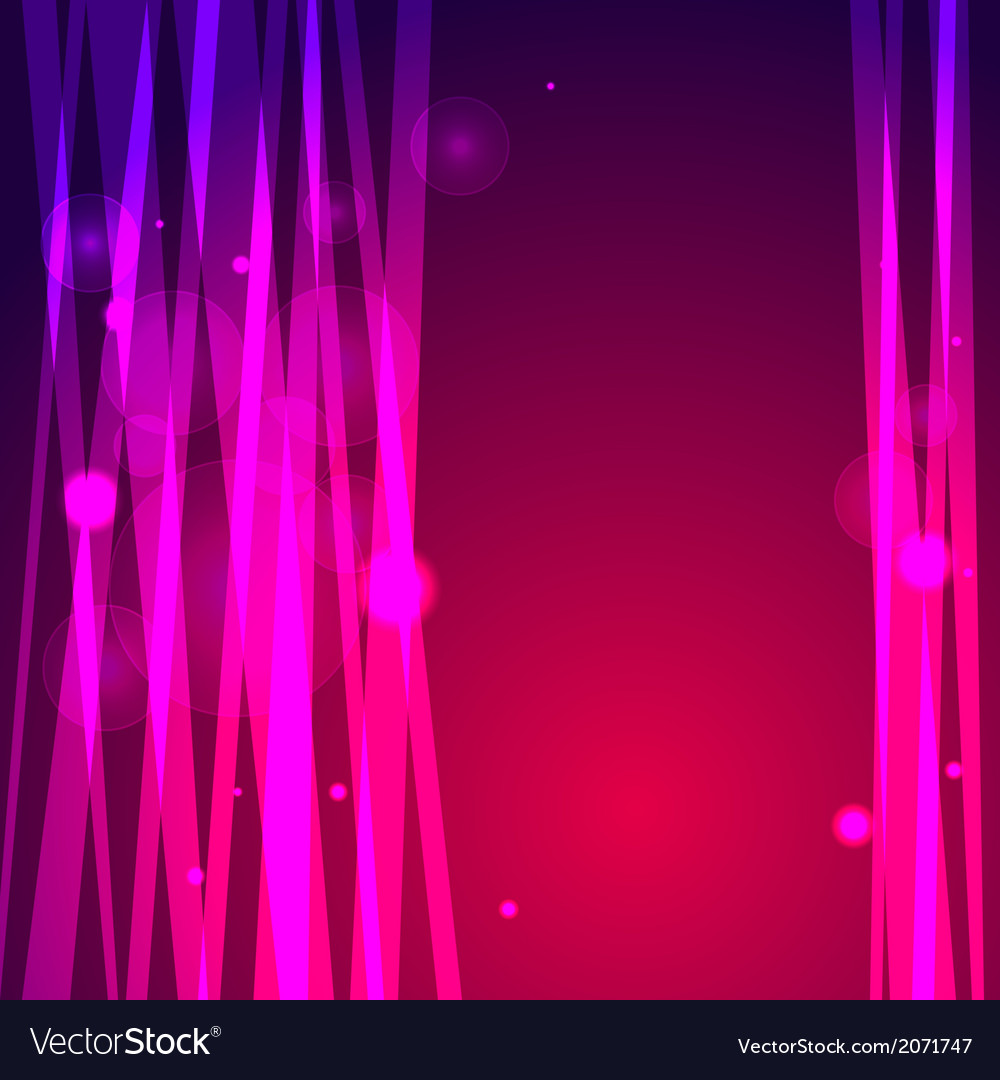 Abstract pink background with lines and bokeh vector | Price: 1 Credit (USD $1)