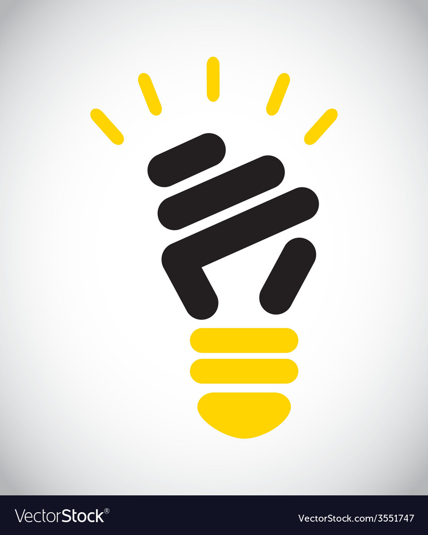 Bulb light vector | Price: 1 Credit (USD $1)