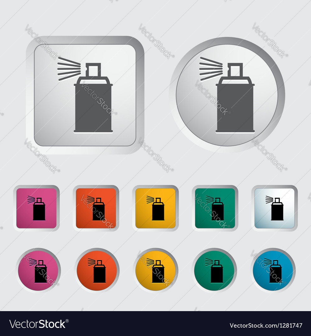 Icon spray cans vector | Price: 1 Credit (USD $1)
