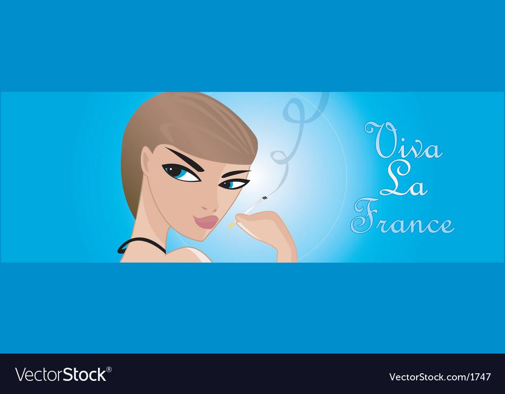Viva la france vector | Price: 1 Credit (USD $1)
