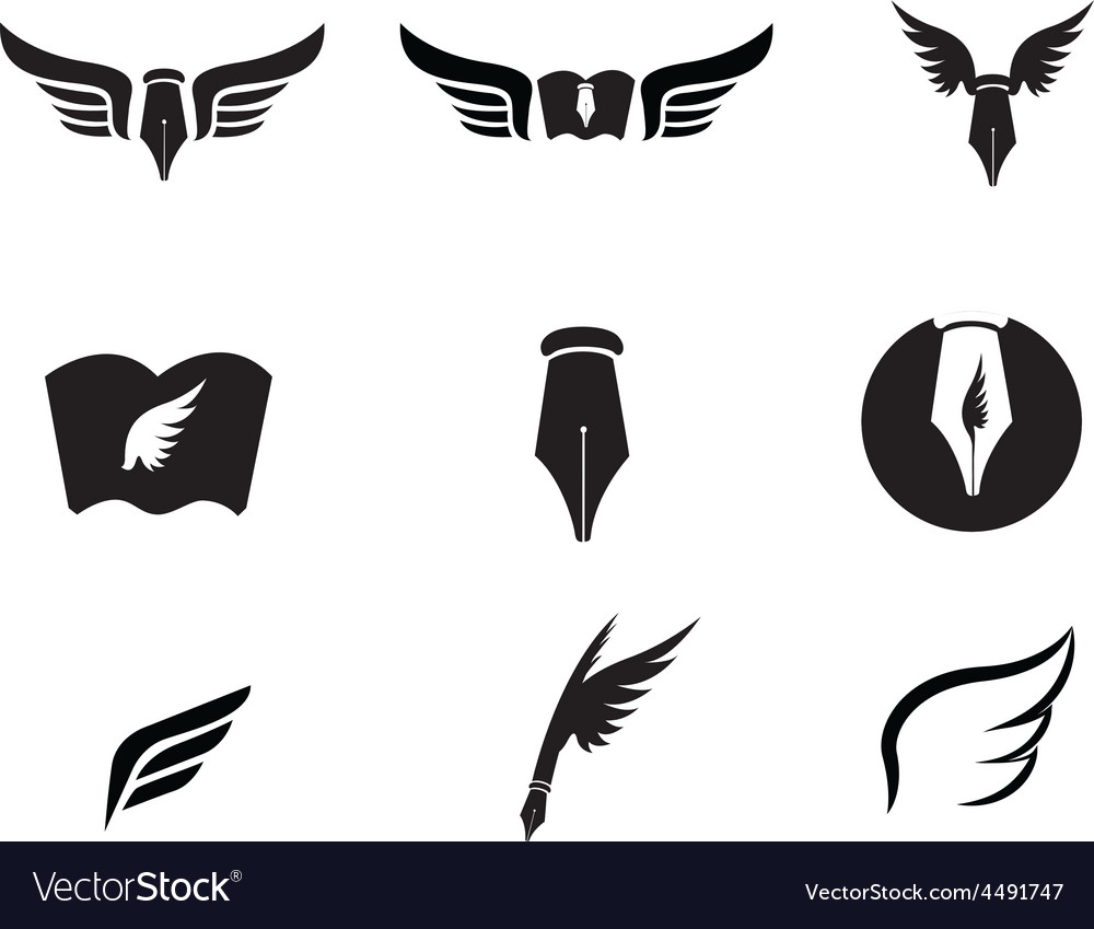 Wing logo vector | Price: 1 Credit (USD $1)