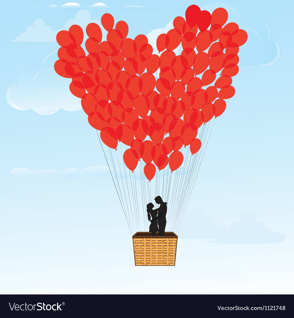Baloon hearts vector | Price: 1 Credit (USD $1)
